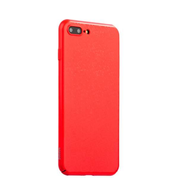 Накладка Baseus WIAPIPH7P-GP09 пластиковая Plaid Case для iPhone 8 Plus (5.5) Красная