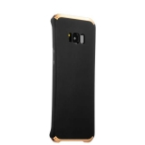 Чехол - накладка Element Case для Samsung GALAXY S8+ SM - G955F Solace Черный (золотистый ободок)