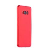 Чехол - накладка силиконовый J - case Shiny Glazed Series 0.5mm для Samsung GALAXY S8+ SM - G955 Jet Red Красный