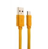 Type-C кабель Hoco X5 Bamboo (1.0 м), цвет желтый