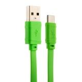 USB дата - кабель Hoco X5 Bamboo USB Type-C (1.0 м) Зеленый