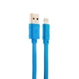 Lightning кабель USB Hoco X5 Bamboo Lightning (1.0 м), цвет голубой