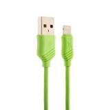 Lightning кабель USB Hoco X6 Khaki Lightning (1.0 м), цвет зеленый