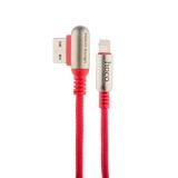Lightning кабель USB Hoco U17 Capsule Lightning (1.2 м), цвет красный