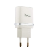 Адаптер питания Hoco C11 Smart single USB charger set + Cable MicroUSB (USB: 5V max 1.0A) Белый