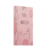 Внешний аккумулятор Hoco B12D Ocean power bank (2 USB : 5V - 2.1A & 2.1A) - 13000 mAh Sea level, цвет розовый