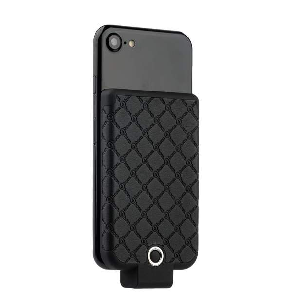 Внешний аккумулятор Hoco BW4 Tiny cool back clipped power bank (USB: 5V - 1.0A) - 4000 mAh Black, цвет черный
