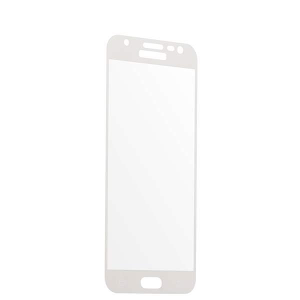 Защитное стекло 2D для Samsung GALAXY J7 SM - J727P (2017 г.) White