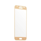 Защитное стекло 2D для Samsung GALAXY J3 SM - J327P (2017 г.) Gold