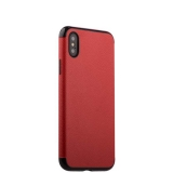 Силиконовый чехол - накладка для iPhone X J - Case Jack Series (с магнитом), цвет красный