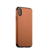 Чехол-накладка силиконовый J-case Jack Series (с магнитом) для iPhone X (5.8) Светло-коричневый