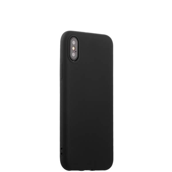 Чехол-накладка силиконовый J-case Delicate Series Matt 0.5mm для iPhone X (5.8) Черный