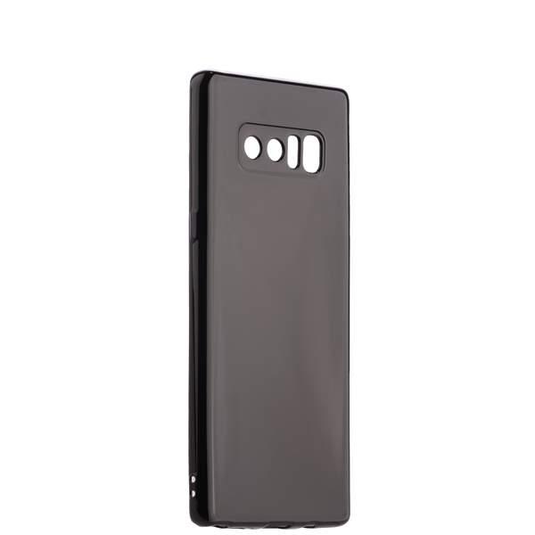 Чехол - накладка силиконовый J - case Shiny Glazed Series 0.5mm для Samsung GALAXY Note 8 (N950) Jet Black Черный