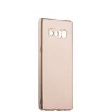 Чехол - накладка силиконовый J - case Shiny Glazed Series 0.5mm для Samsung GALAXY Note 8 (N950) Jet Gold Золотистый