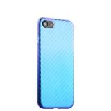 Пластиковый чехол - накладка для iPhone 7 J - Case Colorful Fashion Series (0.5 мм),цвет светло - голубой