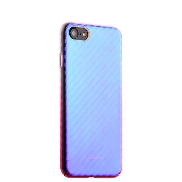Чехол-накладка пластиковый J-case Colorful Fashion Series 0.5mm для iPhone 7 (4.7) Розовый оттенок