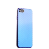 Пластиковый чехол - накладка для iPhone 8 J - Case Colorful Fashion Series (0.5 мм), цвет голубой