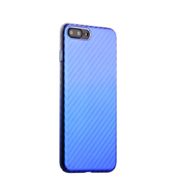 Чехол-накладка пластиковый J-case Colorful Fashion Series 0.5mm для iPhone 8 Plus (5.5) Голубой оттенок