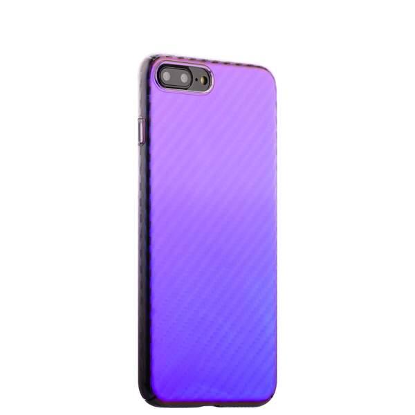 Чехол-накладка пластиковый J-case Colorful Fashion Series 0.5mm для iPhone 8 Plus (5.5) Фиолетовый оттенок