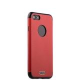 Силиконовый чехол - накладка для iPhone 8 J - Case Jack Series (с магнитом), цвет красный