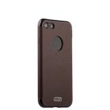 Силиконовый чехол - накладка для iPhone 8 J - Case Jack Series (с магнитом), цвет коричневый