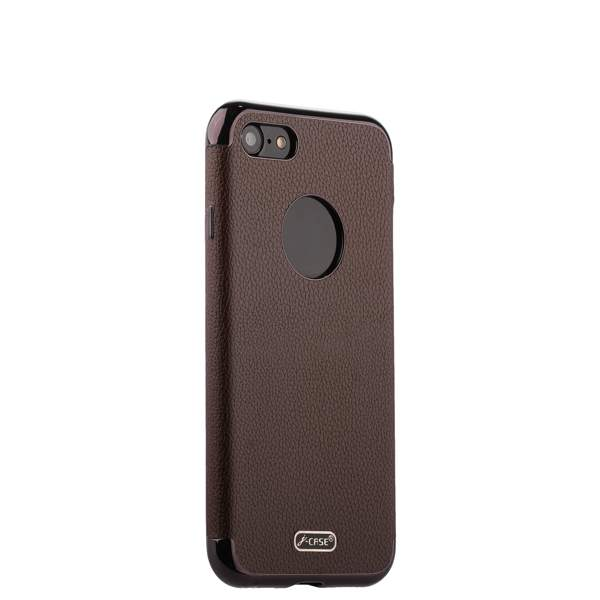 Чехол-накладка силиконовый J-case Jack Series (с магнитом) для iPhone 7 (4.7) Коричневый