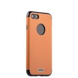 Силиконовый чехол - накладка для iPhone 8 J - Case Jack Series (с магнитом), цвет светло - коричневый