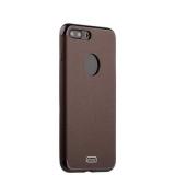 Силиконовый чехол - накладка для iPhone 8 Plus J - Case Jack Series (с магнитом), цвет коричневый