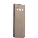 Чехол - накладка силиконовый J - case Delicate Series Matt 0.5mm для Samsung Galaxy Note 8 (N950) Графитовый