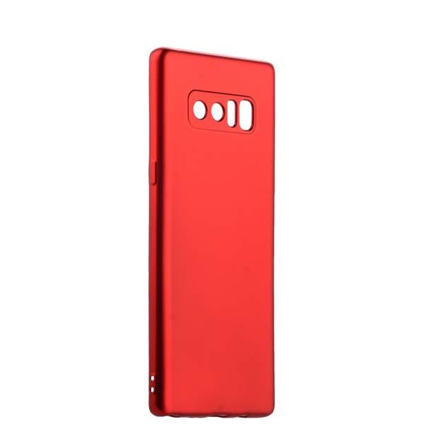 Чехол - накладка силиконовый J - case Delicate Series Matt 0.5mm для Samsung Galaxy Note 8 (N950) Красный