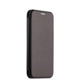 Чехол-книжка кожаный Fashion Case Slim-Fit для Samsung A6 Plus (2018) Black Черный