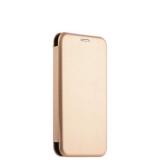 Чехол - книжка кожаный Fashion Case Slim - Fit для Samsung J330 (2017) Gold Золотистый