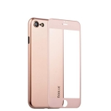 Чехол-накладка супертонкая Coblue Slim Series PP Case & Glass (2в1) для iPhone 8 (4.7) Розовый