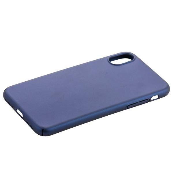 Чехол-накладка пластик COTEetCI Armor PC Case для iPhone X (5.8) CS8010-BL Синий