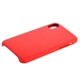 Кожаный чехол - накладка для iPhone X COTEetCI Elegant Leather Case (CS8011 - RD), цвет красный