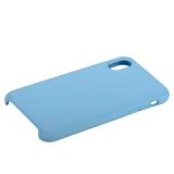 Чехол-накладка силиконовый COTEetCI Liquid Silicone Case для iPhone X (5.8) CS8012-LB Голубой