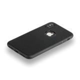 Силиконовый чехол - накладка для iPhone X Hoco Fascination Series, цвет черный