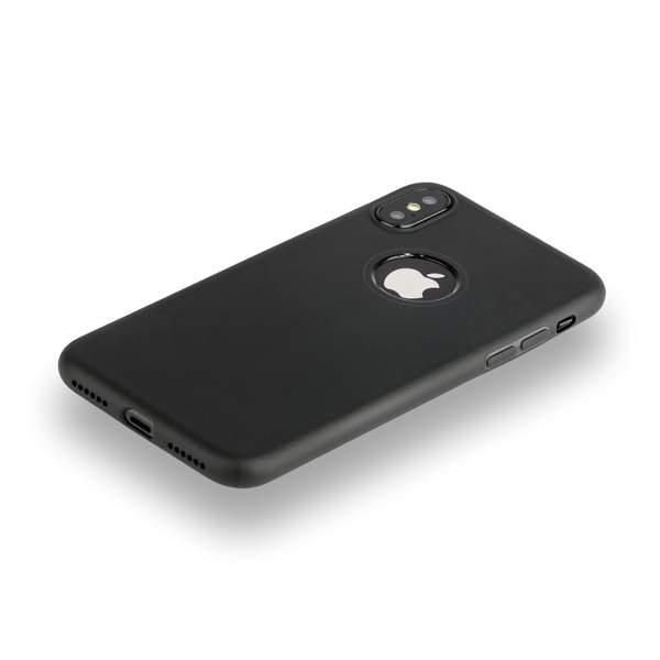 Чехол силиконовый Hoco Fascination Series для iPhone X (5.8) Черный