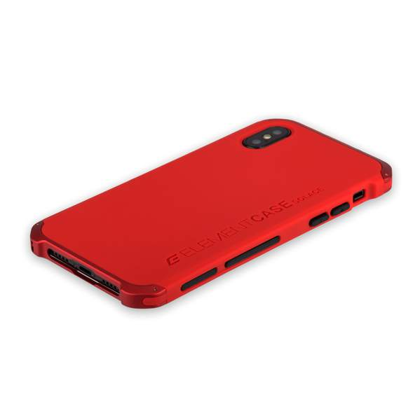 Чехол-накладка Element Case (AL & Pl) для Apple iPhone XS (5.8) Solace Красный (красный ободок)