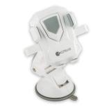 Автомобильный держатель на присоске для смартфонов - COTEetCI ST - 15 (ST3115 - WG) (ширина 95 мм), цвет белый/ серый