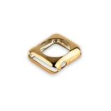 Силиконовый чехол для Apple Watch Series 2 (42 mm) COTEetCI TPU case (CS7041 - CE), цвет золотистый