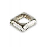 Силиконовый чехол для Apple Watch Series 2 (38 mm) COTEetCI TPU case (CS7040 - TS), цвет серебристый