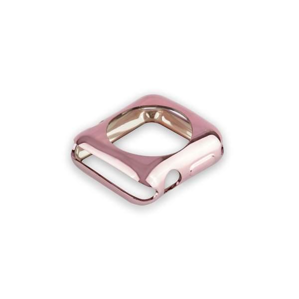 Чехол силиконовый COTEetCI TPU case для Apple Watch Series 3/ 2 (CS7041-MRG) 42мм Розовое золото