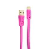 Lightning кабель USB быстрой зарядки Hoco X9 High speed Lightning (1.0 м), цвет розовый