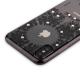 Накладка силиконовая Beckberg Monsoon series для iPhone X (5.8) со стразами Swarovski вид 1 Черный
