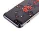 Чехол-накладка KINGXBAR для iPhone 8 (4.7) пластик со стразами Swarovski 49F черный (Феникс)