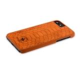 Кожаный чехол - накладка для iPhone 7 Santa Barbara Polo & Racquet Club Knight Series,цвет коричневый