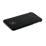 Кожаный чехол - накладка для iPhone 8 Plus Santa Barbara Polo & Racquet Club Knight Series, цвет черный