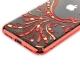 Чехол-накладка KINGXBAR для iPhone X (5.8) пластик со стразами Swarovski 49F красный (Полет)