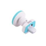 Магнитный автомобильный держатель для смартфонов в решетку Hoco CA16 Short version magnetic air outlet holder, цвет белый